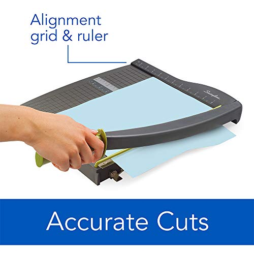 Large Product Image of Swingline Paper Trimmer, Guillotine Paper Cutter, 12