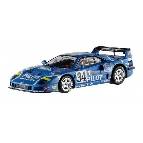 Ferrari Lemans (Hot wheels X5508 Ferrari F40 Lemans 1995 Competizione #34 Elite Edition 1/43 Diecast Car Model by Hotwheels)