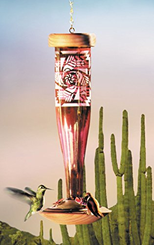 Southwest Ruby Hummingbird Lantern Bird Feeder For Sale