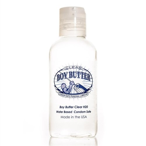 Boy Butter Clear Personal Lubricant, 4 Ounce
