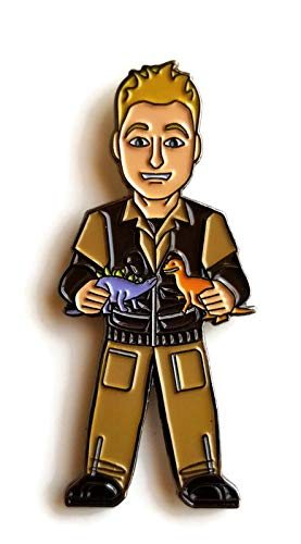 Firefly Alan Tudyk as Hoban'Wash with Dinos' Washburne Licensed FanSets Pin MicroVerse
