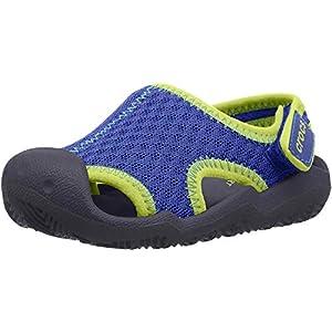 Crocs Kids' Swiftwater Sandal   Water Shoes   Slip On Kids' Sandals