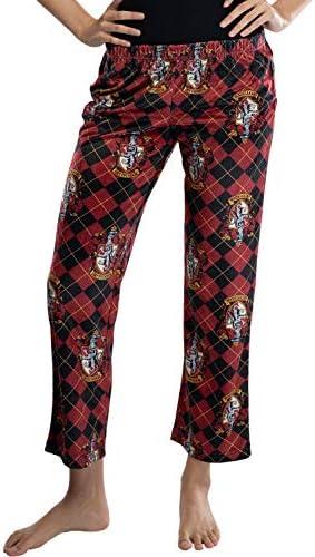 Harry Potter Juniors Casas Hogwarts Recortada Cresta Lounge Pantalones Pijamas