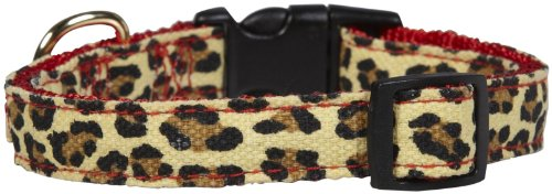 M. Isaac Mizrahi Leopard Collection Collar, 10 to 16-Inch, Red