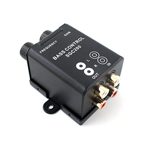 Car Home Subwoofer Equalizer Crossover Amplifier RCA Adjust Line Level Volume Remote Amplifier Level ()