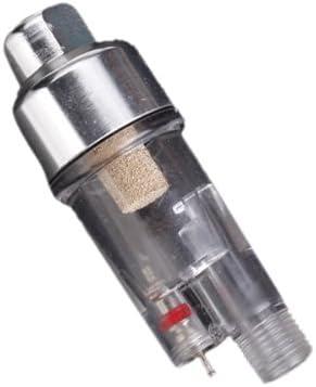 CUTICATE Mini Filtre /à Air S/éparateur deau pour A/érographe Enduit Accessoires Airbrush