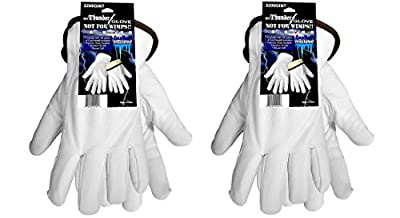 Winter Cold Weather Premium Grade Insulated Goatskin Leather Work Gloves 3200GINT, Available in Sizes Small-2XL (2 Pair)