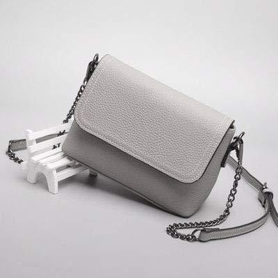 XCXDX Crossbody Spalla Borse Multi Tasche Borsa Per Le Donne Tote Bag In Pelle (Nero, Verde, Grigio),Black Gray