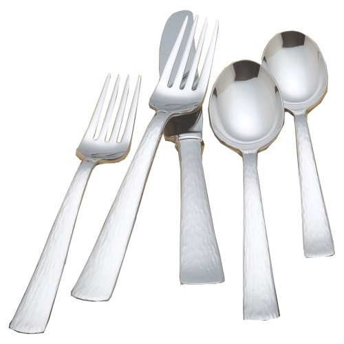 - Reed & Barton Silver Echo 18/10 Stainless Steel 5 Piece Place Setting
