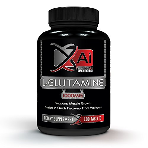 Xtreme Ai Nutrition Premium Potency Glutamine 1000MG Tablet - L-Glutamine Supports Muscle Growth | Workout Recovery Supplement for GI | Supports Immune, Digestive & Brain Health | Made in the USA