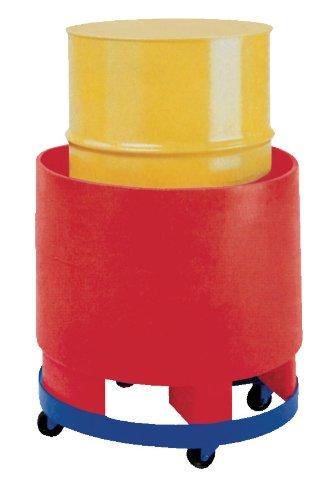 Vestil DRUM-SP-28-12-C Steel Overpack Drum Dolly, 1200 lbs Capacity, 28'' ID x 28-3/8'' OD by Vestil (Image #1)