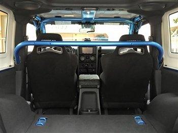 Rock Hard 4x4 Front Seat Harness Bar for Jeep Wrangler JK 2DR 2007 - 2017