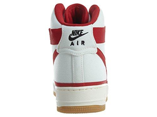 Uomo Nike Air Force 1 High 07 Scarpe Da Ginnastica Vela / Palestra Rosso-nero