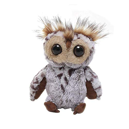 Best Plushtoys Standing owl 9 Inches Adorably Cute Plush Stuffed Animal Toy Super Soft and Cuddly for Babies Lovable Present for Holidays, Birthday, Valentines Day, Party Favors