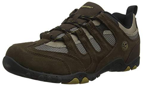 - Hi-Tec Quadra Classic Walking Shoes - SS19-10.5 - Brown