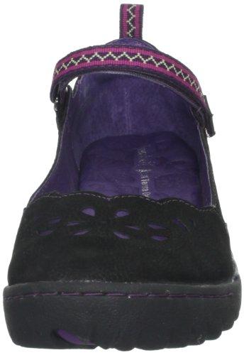 Jambu Femmes Ruisseaux Plat Noir / Violet / Violet