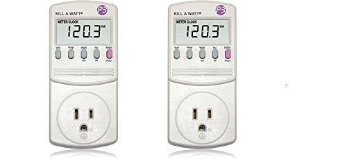 P3 P4400 Kill A Watt Electricity Usage Monitor (2) Kill A Watt Power Monitor