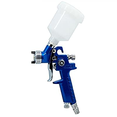 Mini Air Spray Gun 0.8mm Furniture/Wood Automotive Sprayer