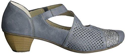 Rieker Kvinnor Toffel Adria / Jeans Storlek 10,5 B (m) Oss