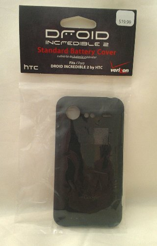 HTC Droid Incredible 2 Standard Back Cover Battery Door
