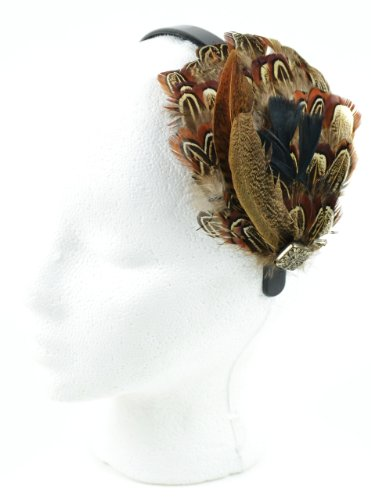 (Touch of Nature 12722 Natural Multi Pheasant Feather Headband)