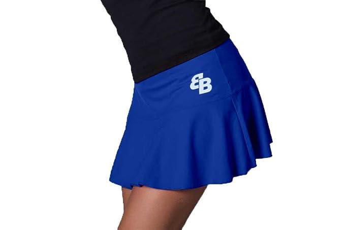 Desconocido Falda Basica Chica Zafiro para Tenis Y Padel ...