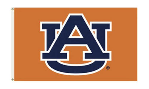 Auburn University (Logo) - 3' x 5' NCAA Polyester Flag (Logo Polyester University)