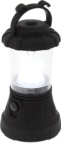 SE FL80617BK 11-LED Black Hurricane Lantern
