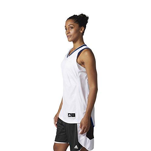 adidas W Crazy Expl Jr Camiseta Baloncesto, Mujer blanco (reauni)