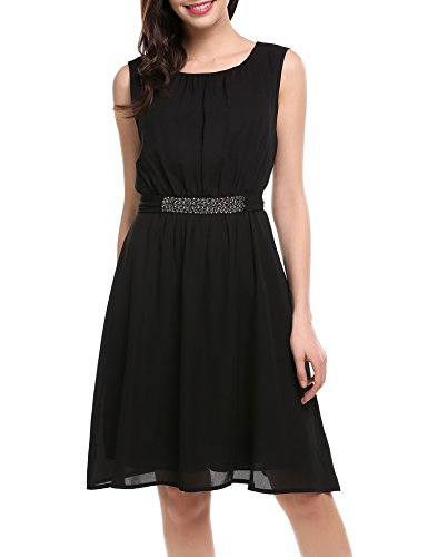 Buy belted party dress - 6