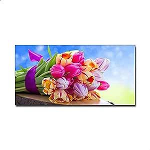 Smile Gallery Modern Tableau 60X30 CM - Multi Color - 2724647445397