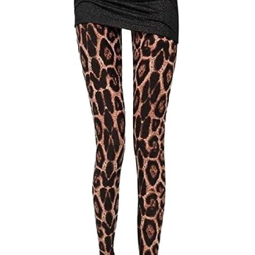 0213230cba5d34 Yayu Womens Nine Point Elegant Fashion Leopard Leggings Pants hot sale
