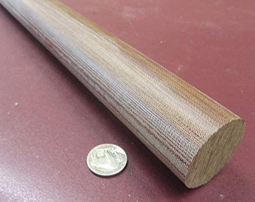 Canvas CE Phenolic Round Rod Diameter x 48 Length 1.50 1 Unit 1-1//2