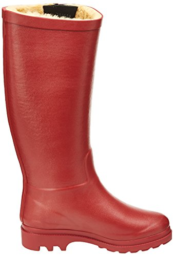 Aigle Aiglentine Fur Damen Gummistiefel Red (bordeaux)