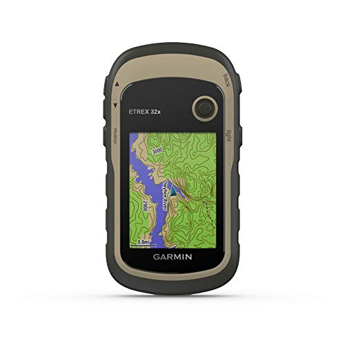 Garmin eTrex 32x, Rugged Handheld GPS - Memory Axis