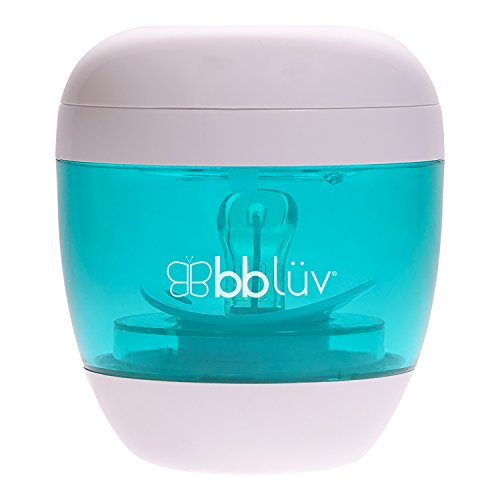 bblüv - Üvi 4-in-1 Portable UV Sterilizer, Cleaner and Sanitizer for Pacifiers and Baby Bottle Nipples by bblüv
