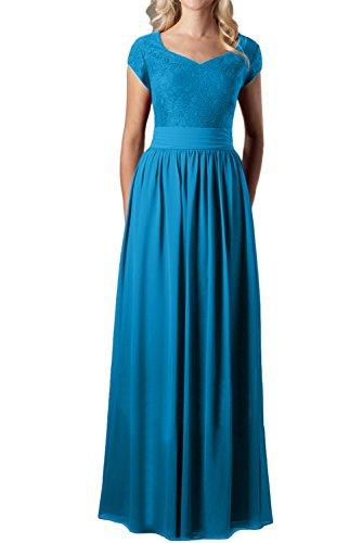 Topkleider - Vestido - trapecio - para mujer azul 36
