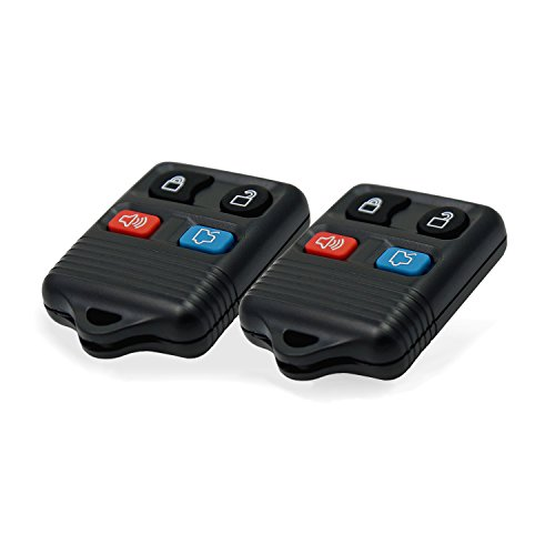 uxcell New Replacement 4 Button Keyless Entry Remote Key Fob Clicker Transmitter For Ford CWTWB1U212