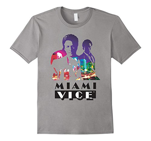 Miami Vice Classic Colorful T-shirt in 5 colors, men or women