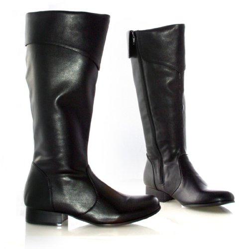 Adult Womens Boots Pirate (Ellie Shoes - Adult Women - Bonny Black Adult Pirate Boots (Women's Adult 6) - Size)