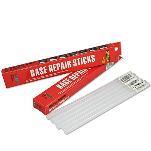 Cnforce Winter Sport Ski Snowboard Ptex Drip Candle Ski Base Repair Stickers 5PK (White, 8MM)