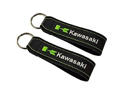 Moto Discovery Cordón Llavero Doble Cara para Modelos Kawasaki (1 Pieza)