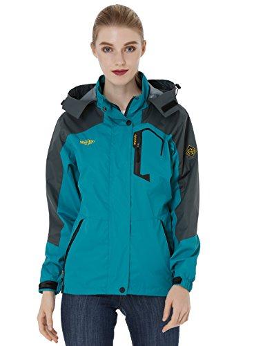 Wantdo-Womens-Hooded-Outdoor-Lightweight-Waterproof-Rain-Jacket-Windproof-Raincoat