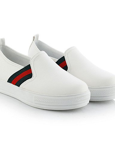 Semicuero eu43 uk6 eu39 Negro uk9 Zapatos Casual Rojo Vestido us11 us11 Plataforma red 5 mujer cn4 uk9 black 5 Creepers Plataforma red de gyht cn44 eu43 Exterior us8 Blanco cn40 ZQ Mocasines B5CfqPB