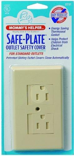 高質 Mommys Helper Safe Electrical Plate Helper Electrical Almond Outlet Covers Standard, Almond by Mommy's Helper B01H7KGVVC, ペットの雑貨屋さん spring:2509688e --- outdev.net