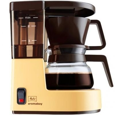Melitta-Aromaboy-Drip-coffee-maker-2tazas-Beige-Cafetera-Independiente-Drip-coffee-maker-De-caf-molido-Beige-Botones