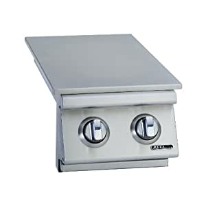 Bull Outdoor Products 30008 Liquid Propane Slid-In Double Side Burner, Front and Back Design