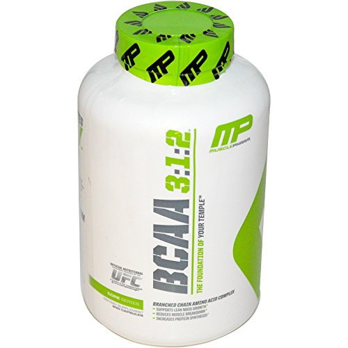 Bcaas 240 Capsules (Muscle Pharm, BCAA 3:1:2, 240 Capsules - 2pc)