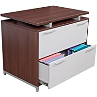 Regency Lateral File Cabinet Dimensions: 36W X 24D X 30H Two Drawer - Java