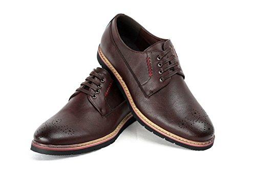 CABALLEROS Acento Irlandés ENCAJE Inteligente Zapatos Café